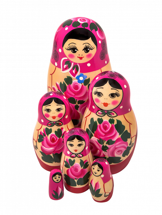 Matryoshka nontraditional 6 pcs