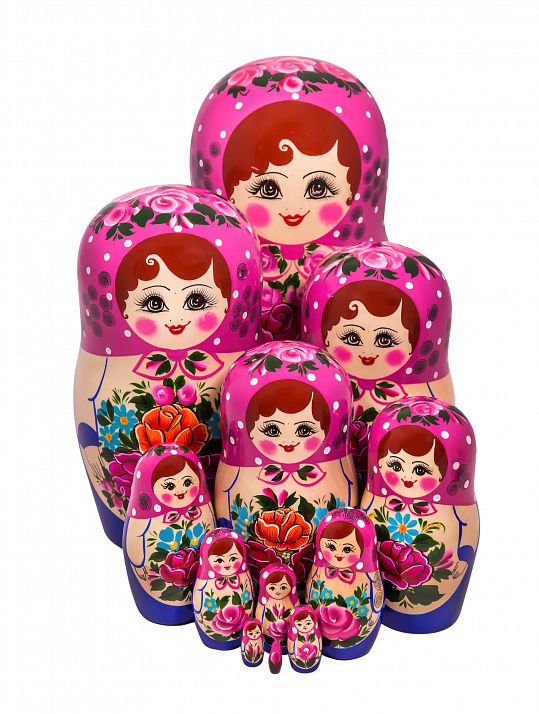 Matryoshka nontraditional 12 pcs