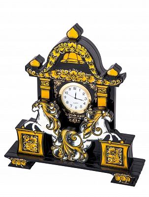 "Table clock ""Golden time"" 250*230*50"