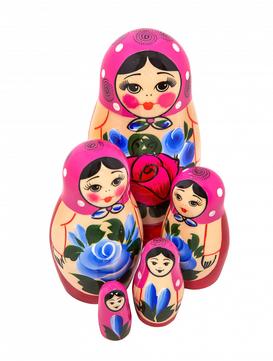 Matryoshka nontraditional 5 pcs